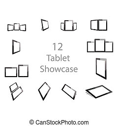 Tablet showcase