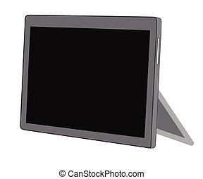 Tablet Stand Vector