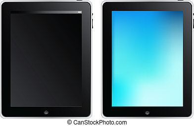 Tablet Touch Computer - Tablet Touch PC Or Mobile Device,...