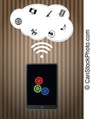 tablet wireless cloud