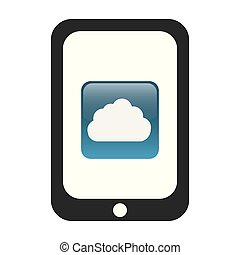 tablet with cloud app