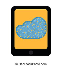 Tablet with cloud technology