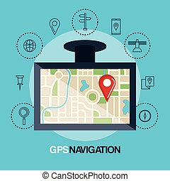 tablet with gps application