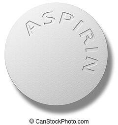 tableta, aspirina