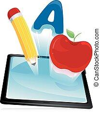 tableta, educación