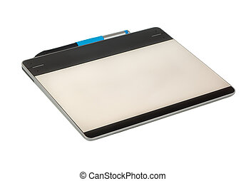 tableta, gráfico, aislar