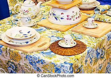 tabletop, 2, floral