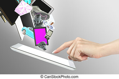tabletta, számítógépek