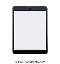 tablette, appareil, numérique, icône, technologie