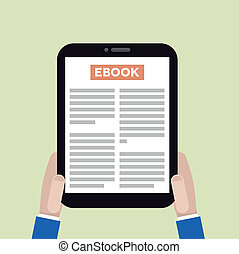 tablette, ebook