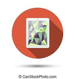 tablette, icône