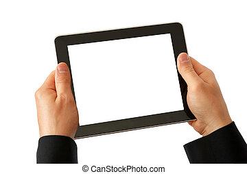 tablette, numérique