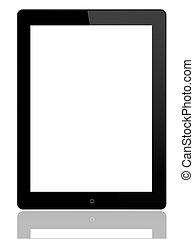 tablette pc, -, ipad, 2
