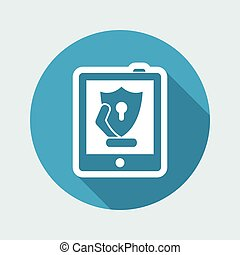 tablette, sécurité