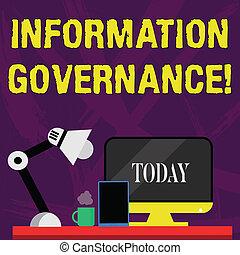 tablette, schreibende, informationen, geschaeftswelt, text, analysisagement, lamp., nightshift, arbeitsbereich, anordnung, governance., begriff, edv, arbeiter, organisation, wort