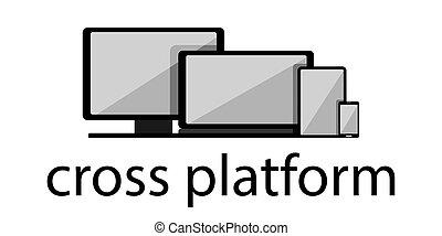 tablette, vecteur, smartphone, texte, ordinateur portable, ...