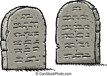tablettes pierre