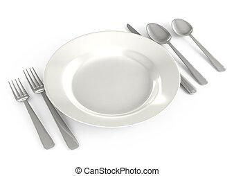 tableware, ristorante