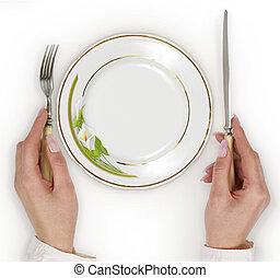 Tableware - Empty plate