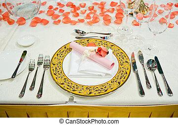 tableware, upscale