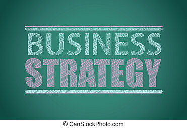 tablica, pisemny, handlowa strategia