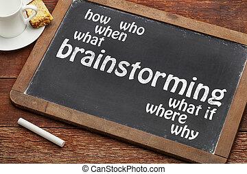 tablica, pojęcie, brainstorming
