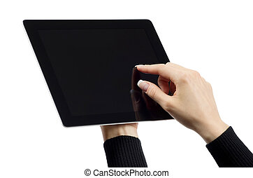 tabliczka, komputer