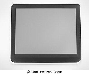 tabliczka, przestrzeń, up.digital, screen.photo, czysty, zamknięcie, kopia