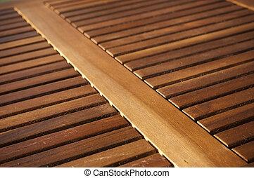 tablillas, madera