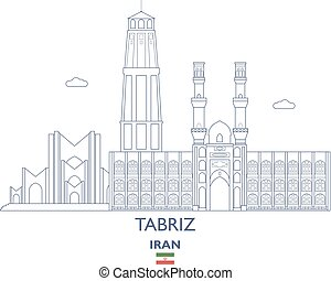 Tabriz City Skyline, Iran