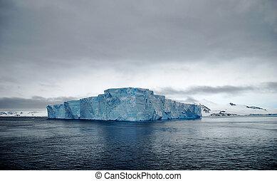 tabular, iceberg, oceânicos