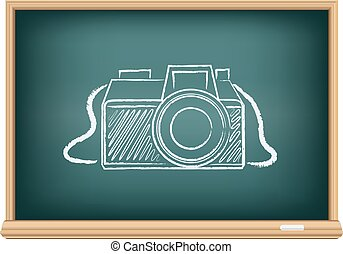 tabule, kamera, fotografie