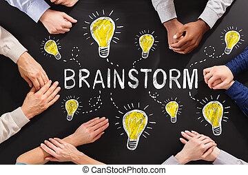 tabule, pojem, brainstorm