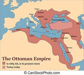 tacchino, impero ottomano