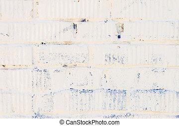 Mur, blanc, moderne, rue, plâtre. Mur, plâtre, moderne, rue ...