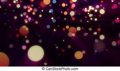 taches, cercles, couleur
