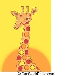 taches, girafe