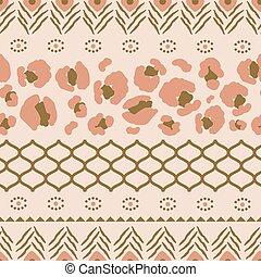taches, modèle, léopard, seamless, texture, formes, grille,...