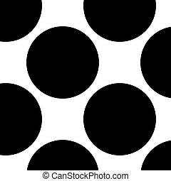 taches, tache rousseur, pattern., halftone, polkadots, fond...