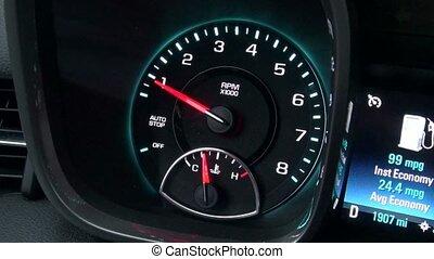 Tachometer, Tach, Gauge, Measure, Automotive