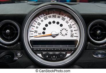 tachymètre, voiture