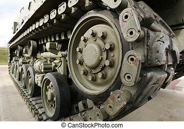 Tack - Track of a tank