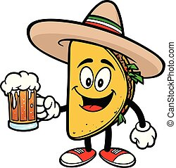 Taco with a Beer