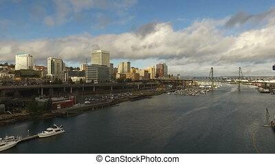 Tacoma Washington Thea Foss Waterway Commencment Bay...