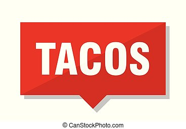 tacos red tag