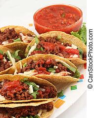 tacos - delicious Mexican tacos
