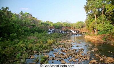 Tad Lo Village Waterfall, Pakse, Laos