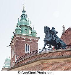 Tadeusz Ko?ciuszko Monument at Wawel Castle, Kraków