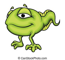 tadpole, vetorial, caricatura