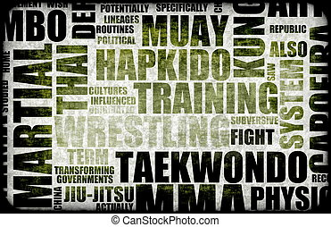Tae Kwon Do Martial Arts as a Fighting Style